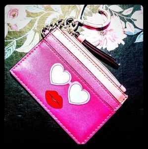 Victoria Secret summer fun card holder keychain